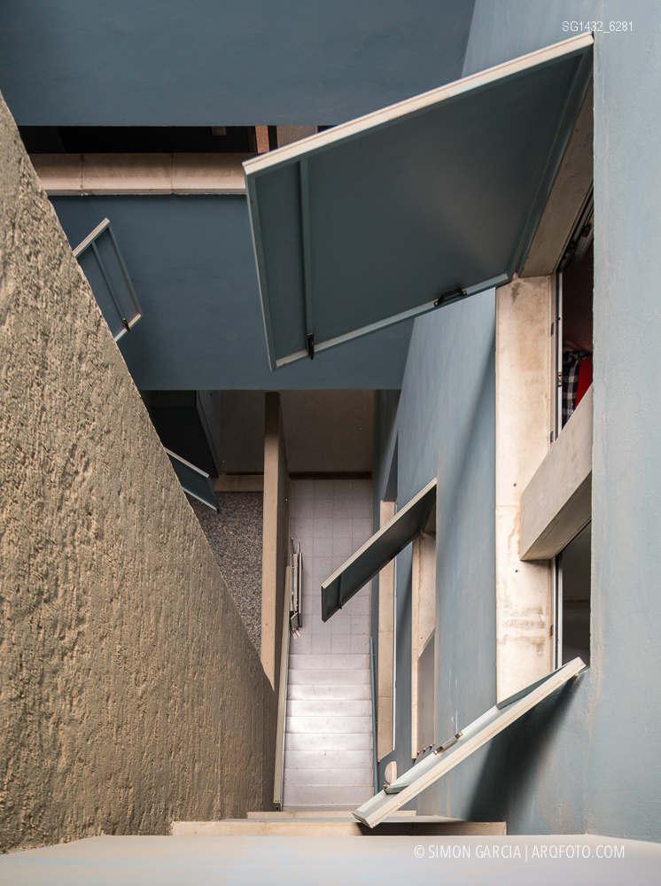 Fotografia de Arquitectura Bloque-viviendas-8-casas-y-3-patios-Las-Palmas-de-Gran-Canaria-Romera-Riuz-arquitectos-SG1432_6281