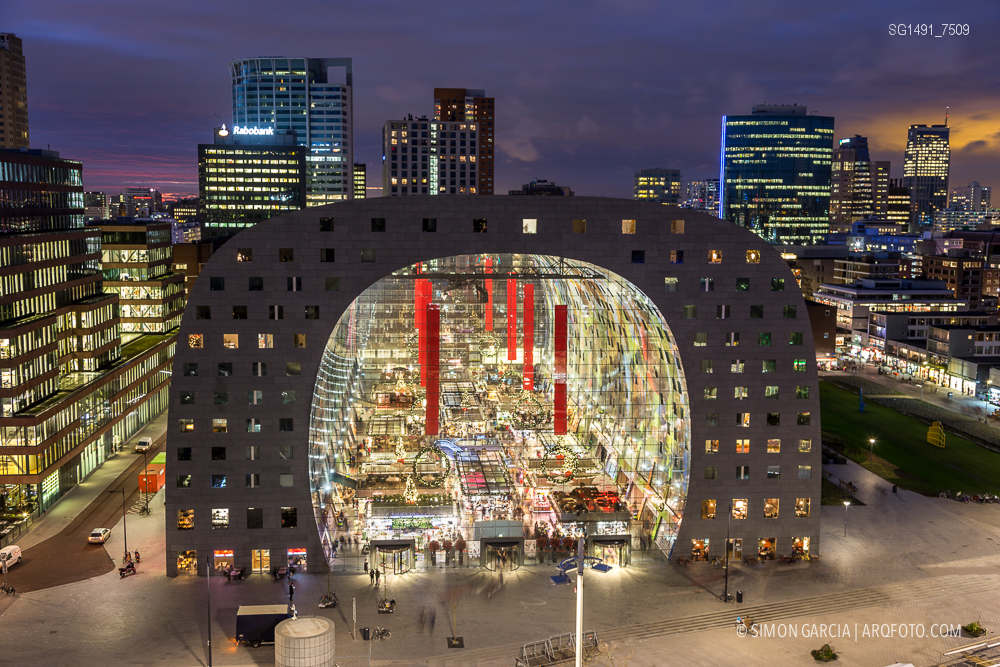 Resultado de imagen para Markthal Rotterdam