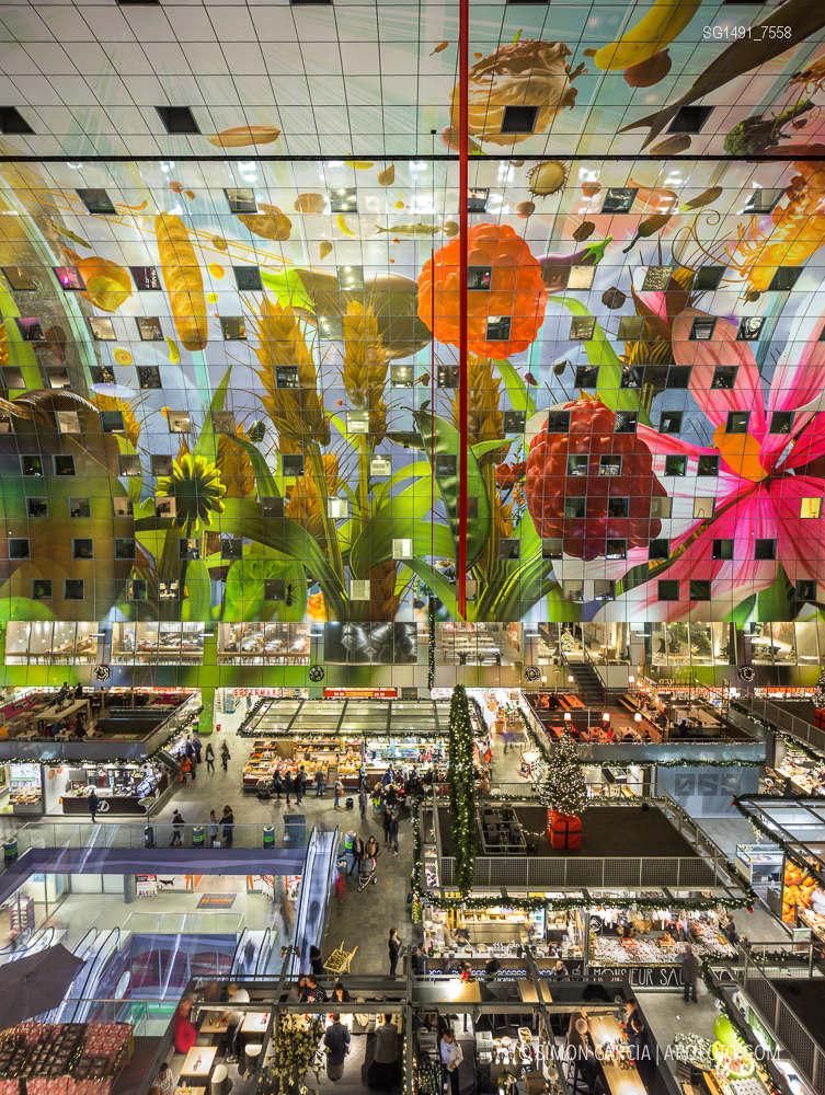 Fotografia de Arquitectura Markthal-Rotterdam-MVRDV-architects-SG1491_7558
