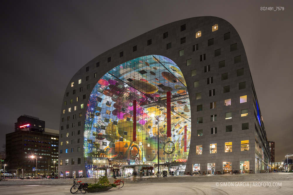 Fotografia de Arquitectura Markthal-Rotterdam-MVRDV-architects-SG1491_7579