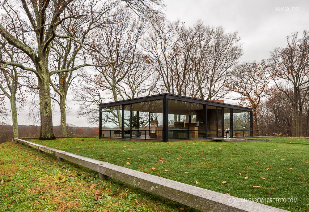 Glass House Philip Johnson Simon Garcia Arqfoto