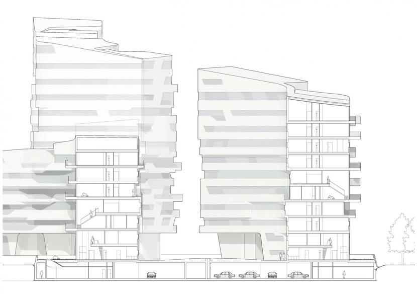 Fotografia de Arquitectura City-Life-Milano-Residential-Complex-Zaha-Hadid-doc-04