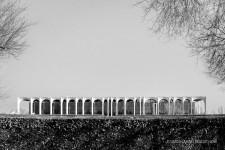 Fotografia de Arquitectura Sede-Mondadori-Niemeyer-01-SG1612_9419-bn