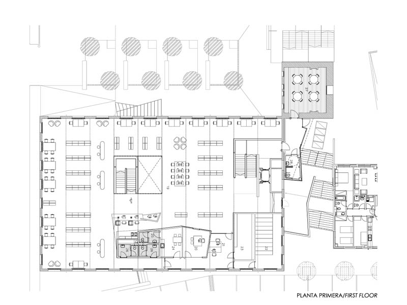 Fotografia de Arquitectura Biblioteca-Can Manyer-Dilme-Fabre-doc-03