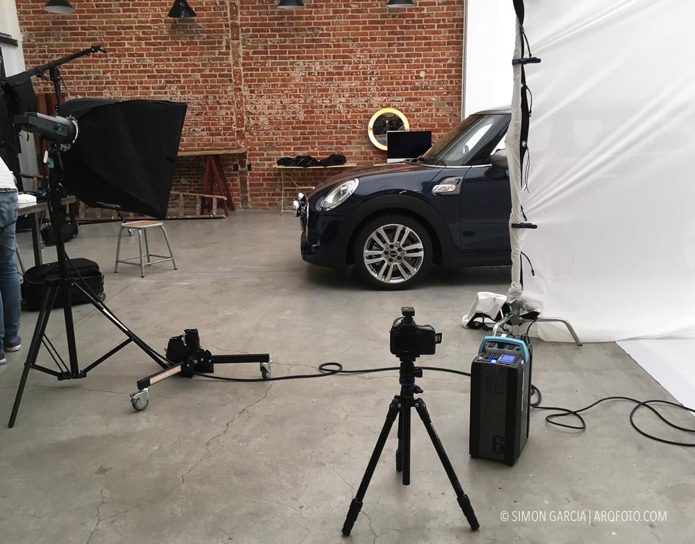 Panoramica 360 interior coche Mini Seven