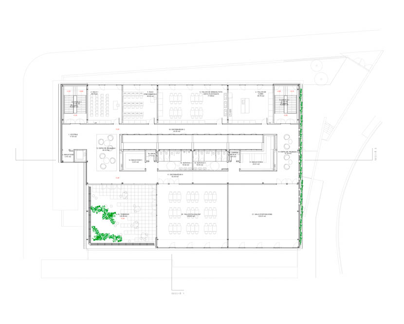 Fotografia de Arquitectura Centre-Cívic-Joan-Oliver-Pere Quart-doc-04