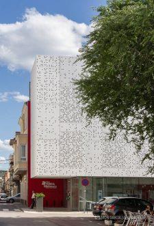 Fotografia de Arquitectura Biblioteca Salvador Vives Casajuana-Batllori & Trepat-02-SG1744_5638