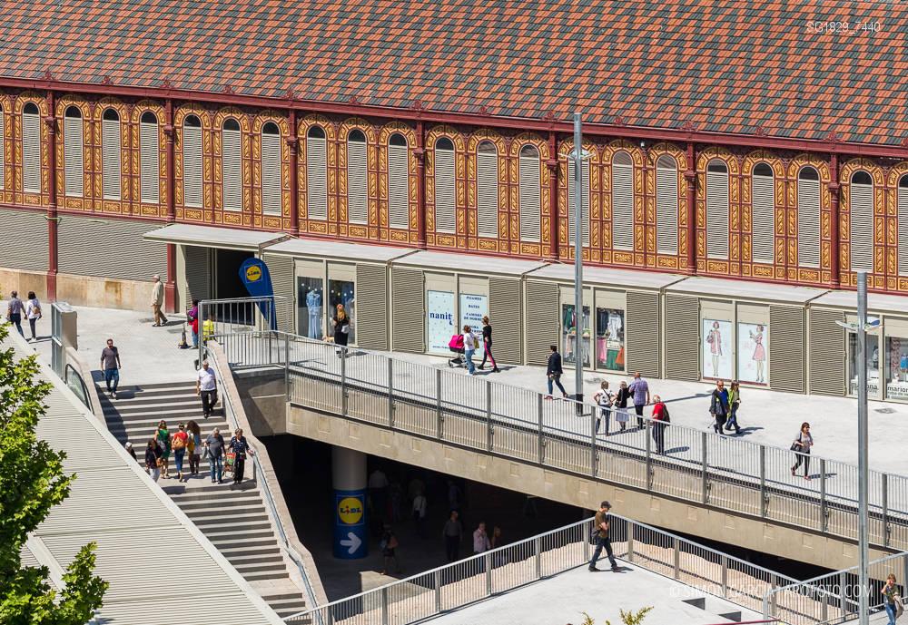 Fotografia de Arquitectura Mercat-de-Sant-Antoni-Ravetllat-Ribas-03-SG1829_7440