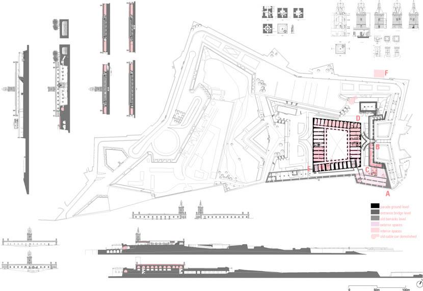 Fotografo de Arquitectura Rehabilitacion-Castillo-Montjuic-Forgas-doc-02