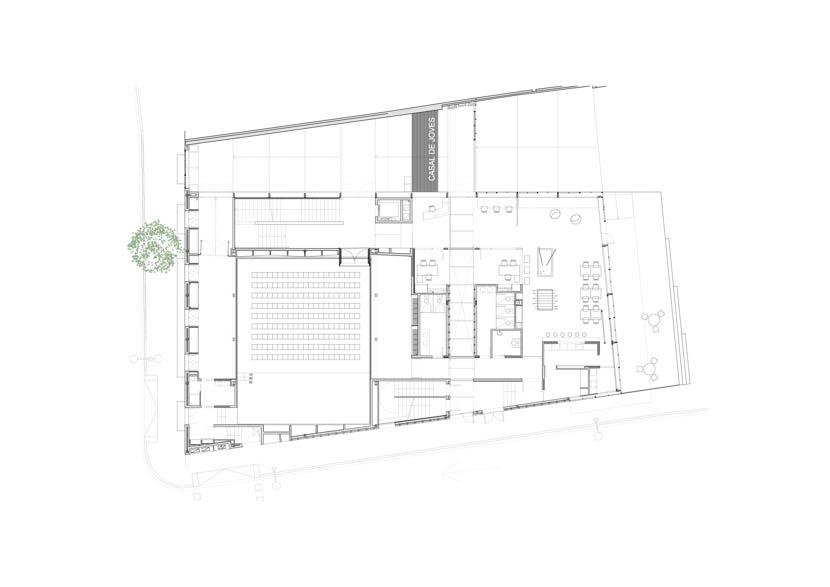 Fotografo de Arquitectura Casal Joves Sant Feliu-AMB-doc-01