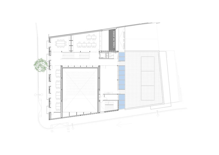 Fotografo de Arquitectura Casal Joves Sant Feliu-AMB-doc-03