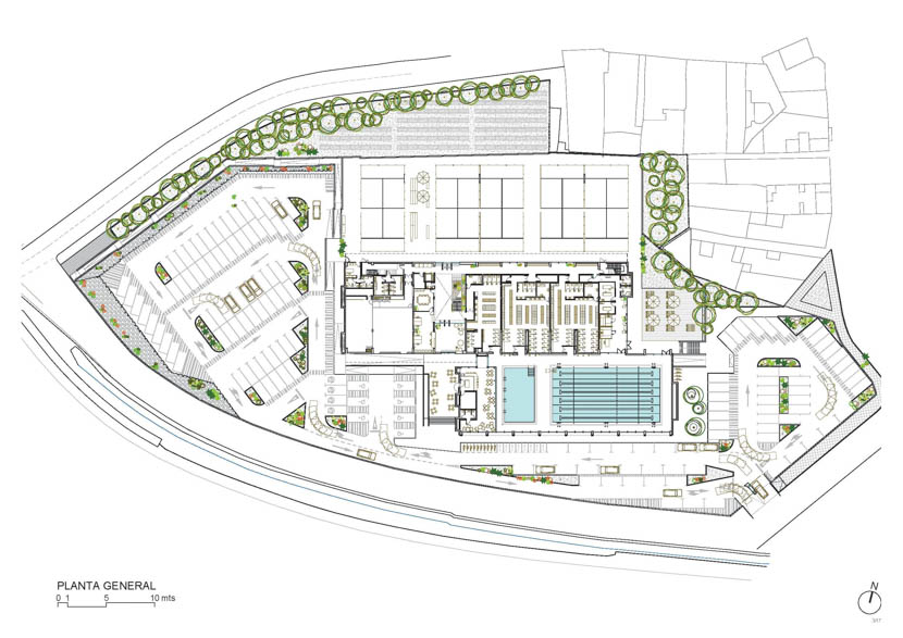 Fotografo de Arquitectura Centro deportivo Telde-Romera Ruiz arquitectos-doc-01
